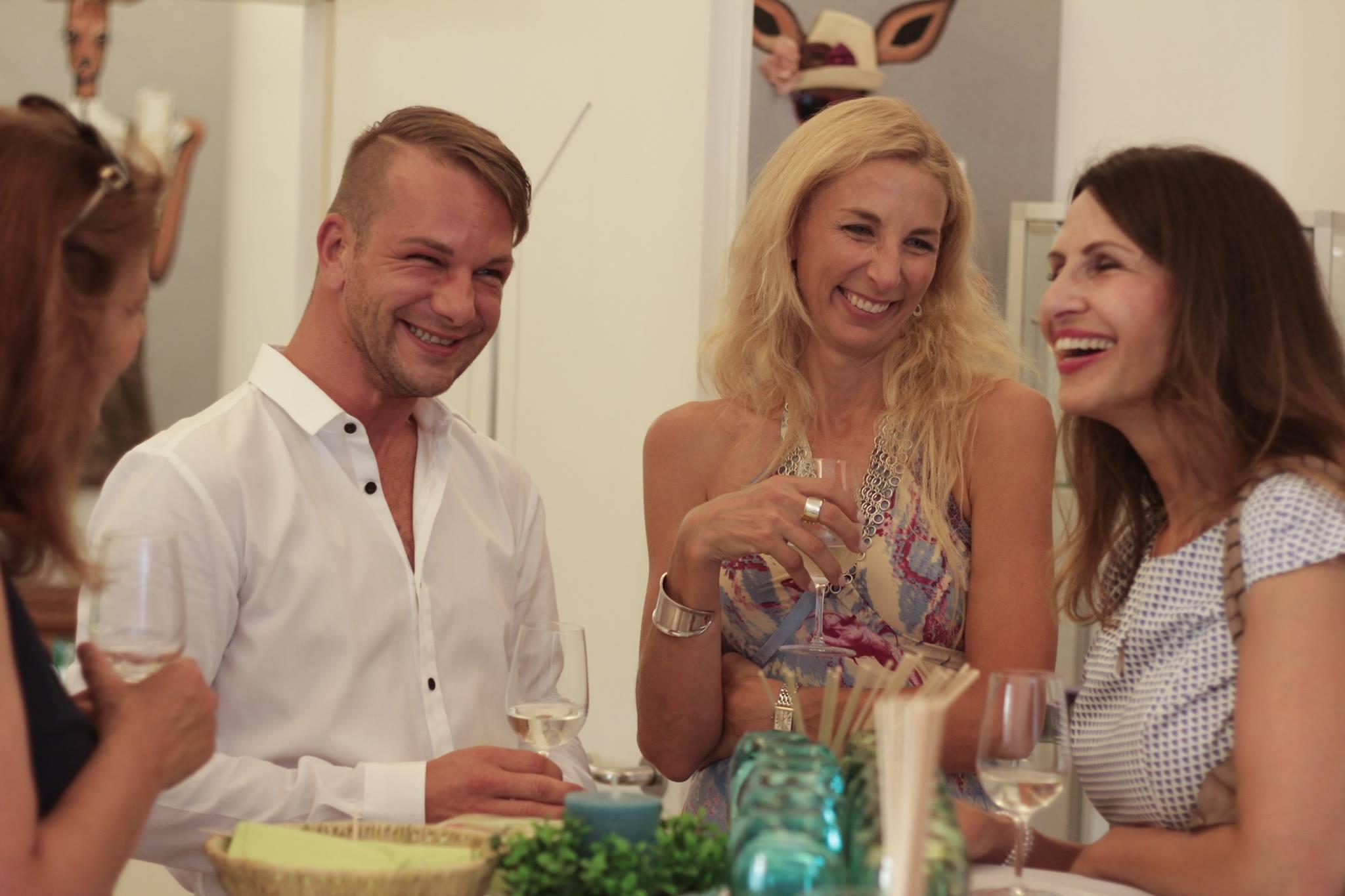 villa bella sommer und cocktailparty